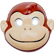 Curious George PVC Mask