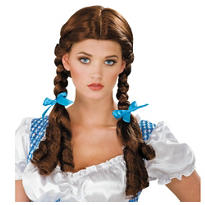 Adult Wizard of Oz Dorothy Wig