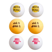 Beer Pong Ping Pong Ball 6ct