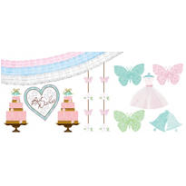 Blushing Bride Room Decorating Kit 16pc