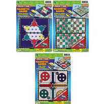 Travel Magnet 3 in 1 Games