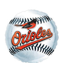 Baltimore Orioles Baseball Balloon 18in