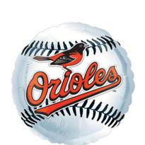 Baltimore Orioles Baseball Balloon 18in