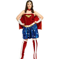Adult Wonder Woman Costume Plus Size Deluxe