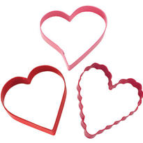 Heart Assorted Cookie Cutter Set 3ct
