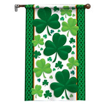 St. Patricks Day Nylon Flag Decoration 38in