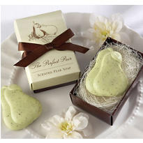 The Perfect Pair Scented Pear Soap Wedding Favor