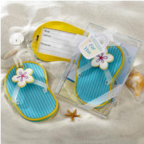 Flip-Flop Luggage Tag Wedding Favor