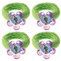 Princess and the Frog Hair Bands 4ct