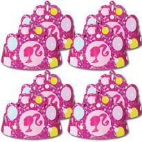 Barbie Foil Tiaras 8ct