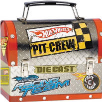 Hot Wheels Tin Box