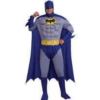 Adult Batman Costume Plus Size Deluxe - The Brave and the Bold