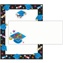 Graduation Printable Invitations Kit 75pc