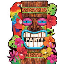Tiki Summer Value Pack Invitations 50ct