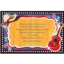 Country Western Custom Invitation