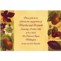 Nature's Scrapbook Custom Invitation