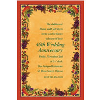 Thanksgiving Medley Custom Invitation