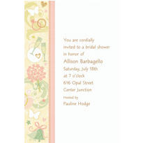 Tying the Knot Custom Invitation