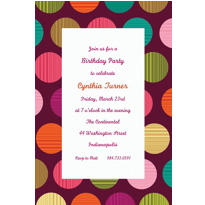 On the Dot Custom Invitation