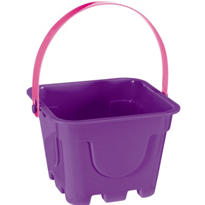 Purple Square Pail