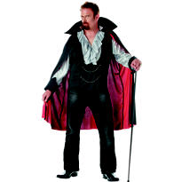 Adult Very Cool Vampire Costume Plus Size
