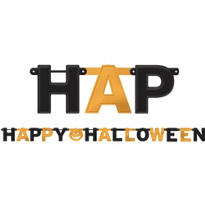 Happy Halloween Letter Banner 8ft