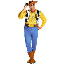 Adult Woody Costume Plus Size - Toy Story