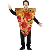 Child Slice of Pizza Costume
