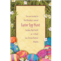 Easter Elegance Custom Invitation