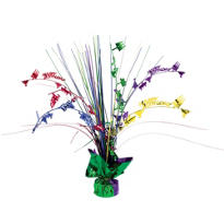 Multicolor Happy Birthday Spray Centerpiece