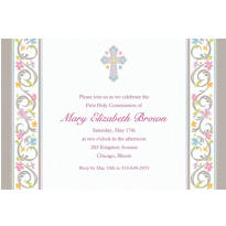 Blessed Day Custom Invitation