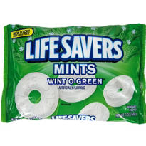 Wint-o-Green Life Saver Mints 96ct Bag