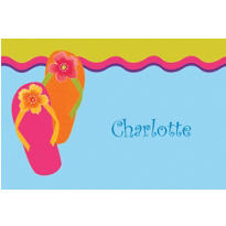 Flip Flop Custom Thank You Note