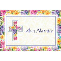 Joyful Blessing Custom Thank You Note