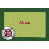 Chicago Cubs Custom Thank You Note
