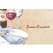 Place Setting Portrait Custom Thank You Note