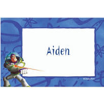 Buzz Lightyear Border Custom Thank You Note