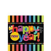 Bright New Year Beverage Napkins 125ct