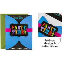 Birthday Cheer Large Invitations 8ct