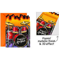 Rockin Out Large Invitations 8ct