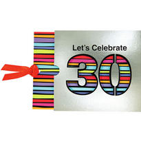 30th Birthday Jumbo Invitations 8ct