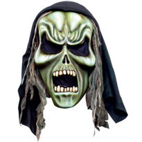 Hooded Grim Reaper Mask