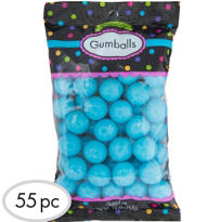 Caribbean Blue Gumballs 56pc