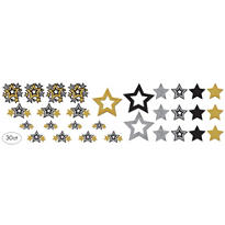 Hollywood Star Cutouts 30ct