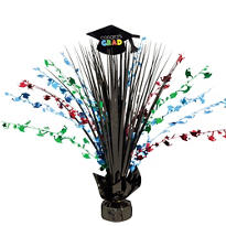 Multicolor Graduation Spray Centerpiece 15in