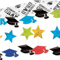 Colorful Graduation Ceiling Decoration 10ft