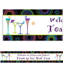 Countdown Cocktails Custom Banner 6ft