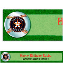 Houston Astros Custom Banner 6ft