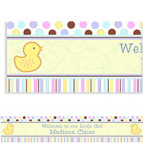 Tiny Bundle Custom Banner 6ft