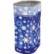 Winter Party Flings® Trash Bin 13 gallon